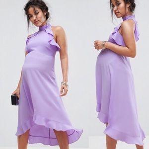 ASOS Maternity Ruffle Midi